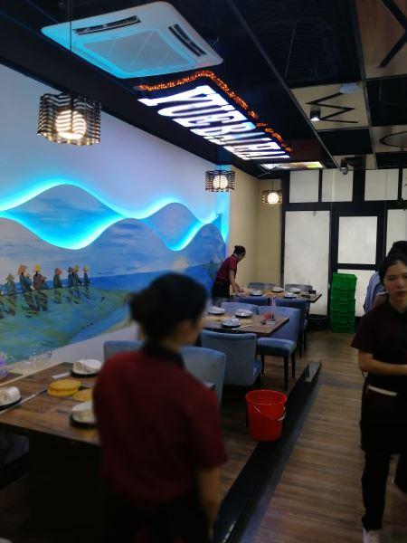 湛江商业空间11选5走势图-越百海饭馆主题餐厅空间