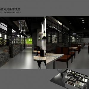 『湛江餐饮空间11选5走势图-渔宫殿烤鱼店』