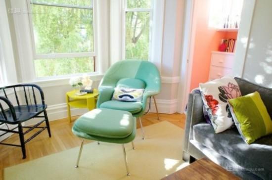 迷你可爱小窗台也能挤出阳光读书角(图4)