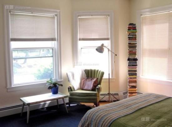 迷你可爱小窗台也能挤出阳光读书角(图10)