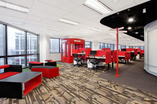 LOFT风格办公室装修11选5走势图效果图